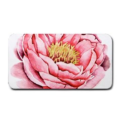 Large Flower Floral Pink Girly Graphic Medium Bar Mats