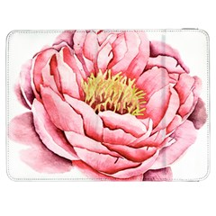Large Flower Floral Pink Girly Graphic Samsung Galaxy Tab 7  P1000 Flip Case