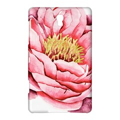 Large Flower Floral Pink Girly Graphic Samsung Galaxy Tab S (8 4 ) Hardshell Case  by CraftyLittleNodes