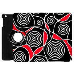 Hypnotic Design Apple Ipad Mini Flip 360 Case by Valentinaart