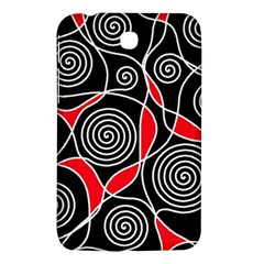 Hypnotic Design Samsung Galaxy Tab 3 (7 ) P3200 Hardshell Case  by Valentinaart