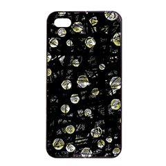 My Soul Apple Iphone 4/4s Seamless Case (black) by Valentinaart