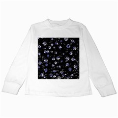 Blue Soul Kids Long Sleeve T Shirts by Valentinaart