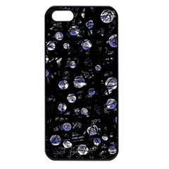 Blue Soul Apple Iphone 5 Seamless Case (black) by Valentinaart