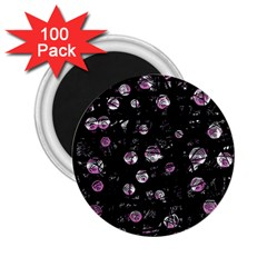 Purple Soul 2 25  Magnets (100 Pack)  by Valentinaart