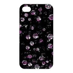 Purple Soul Apple Iphone 4/4s Hardshell Case by Valentinaart