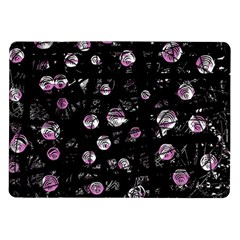 Purple Soul Samsung Galaxy Tab 10 1  P7500 Flip Case by Valentinaart