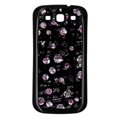 Purple Soul Samsung Galaxy S3 Back Case (black) by Valentinaart