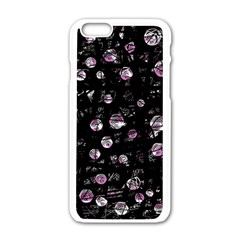 Purple Soul Apple Iphone 6/6s White Enamel Case by Valentinaart