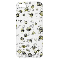 White And Yellow Soul Apple Iphone 5 Hardshell Case by Valentinaart