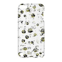 White And Yellow Soul Apple Ipod Touch 5 Hardshell Case by Valentinaart