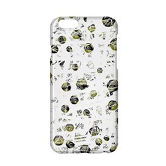 White And Yellow Soul Apple Iphone 6/6s Hardshell Case by Valentinaart
