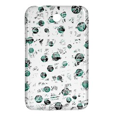 White And Green Soul Samsung Galaxy Tab 3 (7 ) P3200 Hardshell Case  by Valentinaart