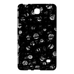 Black And Gray Soul Samsung Galaxy Tab 4 (7 ) Hardshell Case  by Valentinaart
