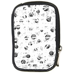 White And Gray Soul Compact Camera Cases