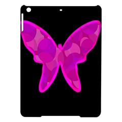 Purple Butterfly Ipad Air Hardshell Cases by Valentinaart