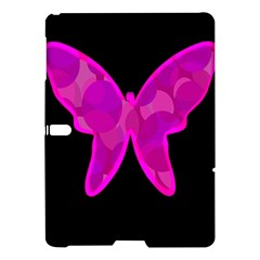 Purple Butterfly Samsung Galaxy Tab S (10 5 ) Hardshell Case  by Valentinaart