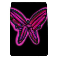 Purple Neon Butterfly Flap Covers (s)  by Valentinaart