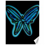 Blue butterfly Canvas 12  x 16   16 x12 Canvas - 1