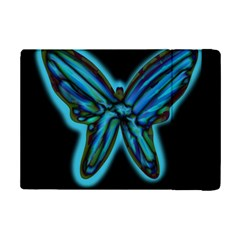 Blue Butterfly Ipad Mini 2 Flip Cases by Valentinaart