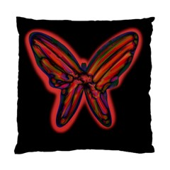 Red Butterfly Standard Cushion Case (two Sides)