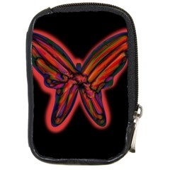Red Butterfly Compact Camera Cases
