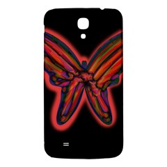Red Butterfly Samsung Galaxy Mega I9200 Hardshell Back Case