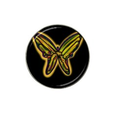 Night Butterfly Hat Clip Ball Marker (10 Pack) by Valentinaart
