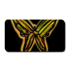 Night Butterfly Medium Bar Mats by Valentinaart