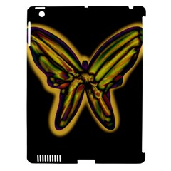Night Butterfly Apple Ipad 3/4 Hardshell Case (compatible With Smart Cover) by Valentinaart