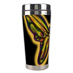 Night Butterfly Stainless Steel Travel Tumblers by Valentinaart