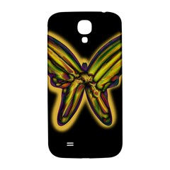 Night Butterfly Samsung Galaxy S4 I9500/i9505  Hardshell Back Case by Valentinaart