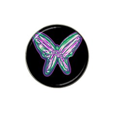 Neon Butterfly Hat Clip Ball Marker (10 Pack) by Valentinaart