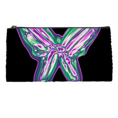 Neon Butterfly Pencil Cases by Valentinaart