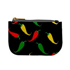 Chili Peppers Mini Coin Purses by Valentinaart