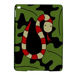 Red Cartoon Snake Ipad Air 2 Hardshell Cases