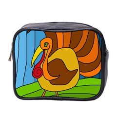 Thanksgiving Turkey  Mini Toiletries Bag 2 Side