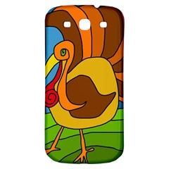 Thanksgiving Turkey  Samsung Galaxy S3 S Iii Classic Hardshell Back Case by Valentinaart
