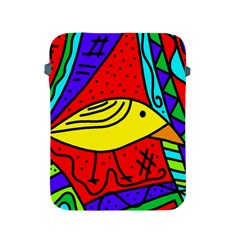Yellow Bird Apple Ipad 2/3/4 Protective Soft Cases by Valentinaart