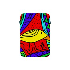 Yellow Bird Apple Ipad Mini Protective Soft Cases by Valentinaart