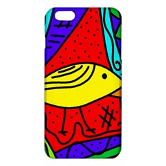 Yellow Bird Iphone 6 Plus/6s Plus Tpu Case by Valentinaart