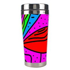 Red Bird Stainless Steel Travel Tumblers