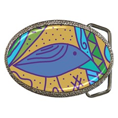 Blue Bird Belt Buckles by Valentinaart