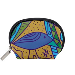 Blue Bird Accessory Pouches (small)