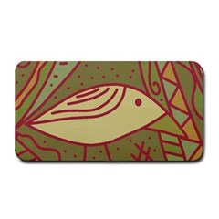 Brown Bird Medium Bar Mats by Valentinaart