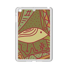Brown Bird Ipad Mini 2 Enamel Coated Cases by Valentinaart