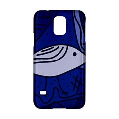 Blue Bird Samsung Galaxy S5 Hardshell Case