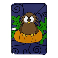 Halloween Owl And Pumpkin Samsung Galaxy Tab Pro 10 1 Hardshell Case