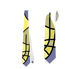 Artistic Cat - Yellow Neckties (two Side)  by Valentinaart