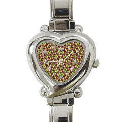Star Ship Creation Heart Italian Charm Watch by MRTACPANS